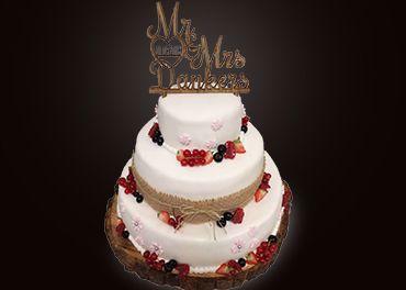 Afbeelding voor categorie Bruidstaarten
