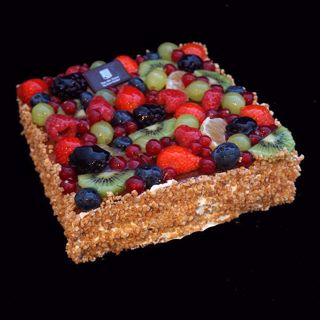 Afbeelding van Vruchtentaart 16 pers