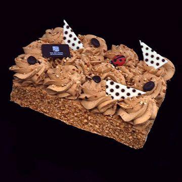 Afbeeldingen van Mokka slagroom taart 12pers