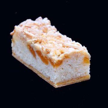 Afbeeldingen van VEGAN abrikoos plaatcake
