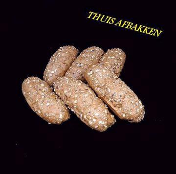 Afbeeldingen van Voorgebakken waldkorn broodjes 1x6
