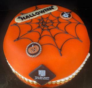 Afbeelding van Halloween Marsepein taart 6 pers